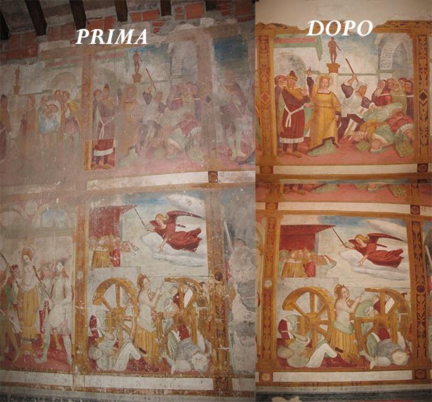 Restauro artistico Bergamo restauro affreschi