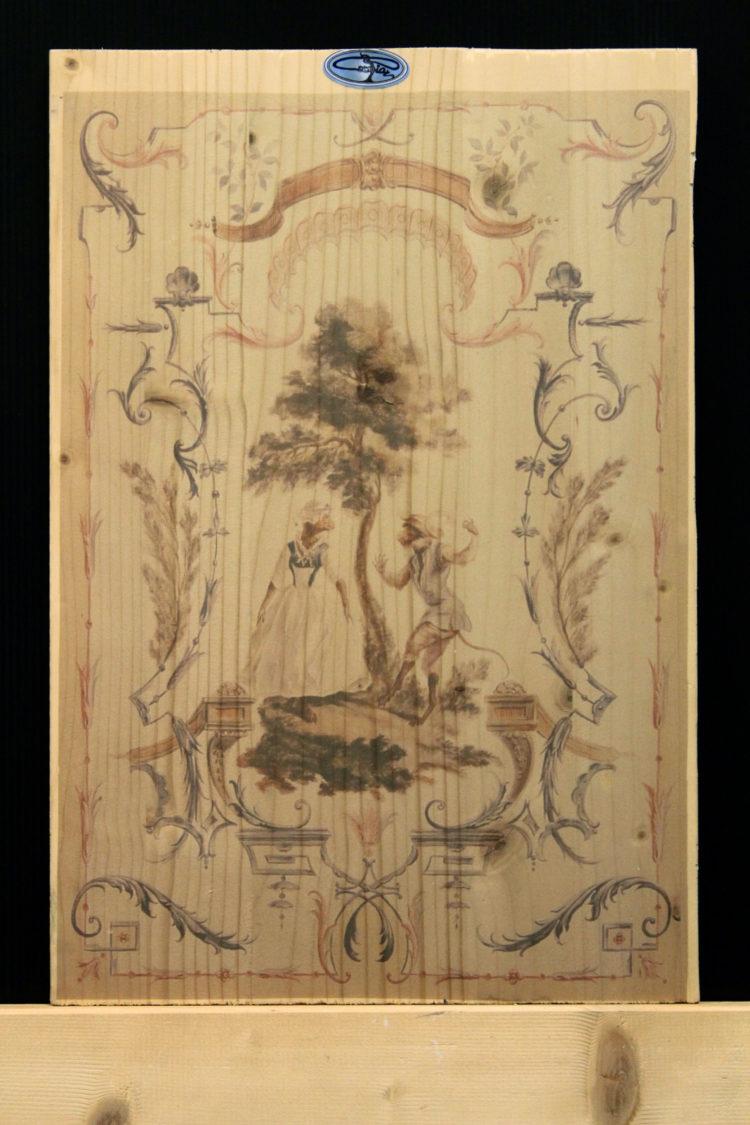 decorazione digitale su legno